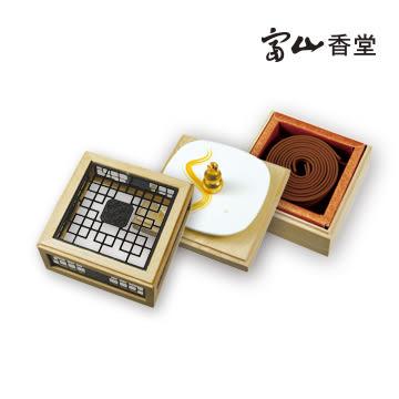 紅土會安3.5h盤香花窗三層組(售完為止)