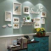歐鋒 創意小鳥墻貼相框組合 小墻面實木照片墻相框墻客廳掛墻 英雄聯盟igo
