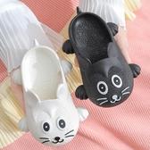 兒童洞洞鞋 兒童拖鞋夏2-8歲男童室內居家寶寶洞洞鞋可愛卡通老鼠女童涼拖鞋 4色