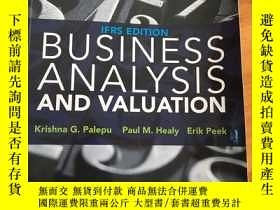 二手書博民逛書店BUSINESS罕見ANALYSIS AND VALUATION