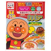 日本 永谷園 麵包超人咖哩燴飯醬 50gx2袋 附貼紙1枚