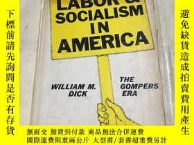 二手書博民逛書店LABOR罕見AND SOCIALISM IN AMERICAY