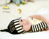 [24hr-快速出貨]  [爆款下殺] 童帽 兒童頭飾 新款 嬰兒 男女 寶寶 月亮 套頭帽 口水巾 包頭