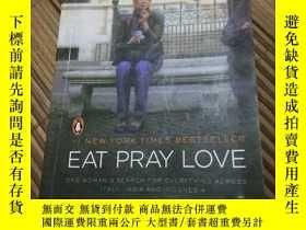 二手書博民逛書店英文原版,Eat,罕見Pray, Love, One Woman