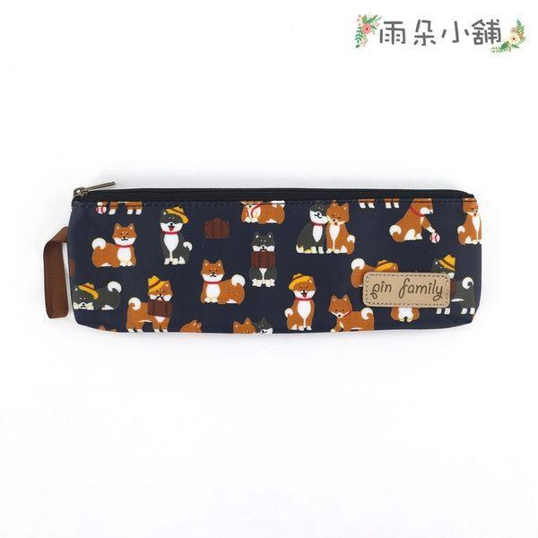 筷套 包包 防水包 雨朵小舖 雨朵防水包 M407-150 一家筷套-深藍公事包柴犬13184 funbaobao