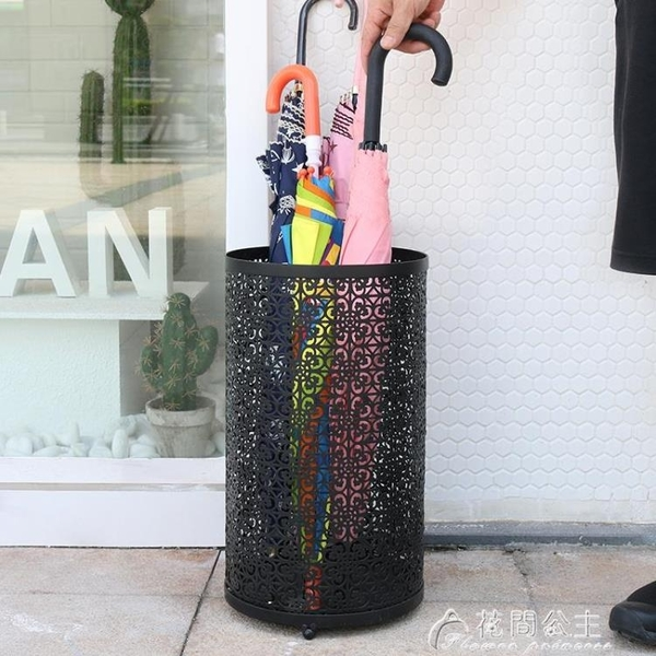 北歐雨傘桶家用傘架酒店大堂雨傘收納進門雨傘筒放雨傘的桶放置桶 花間公主YJT