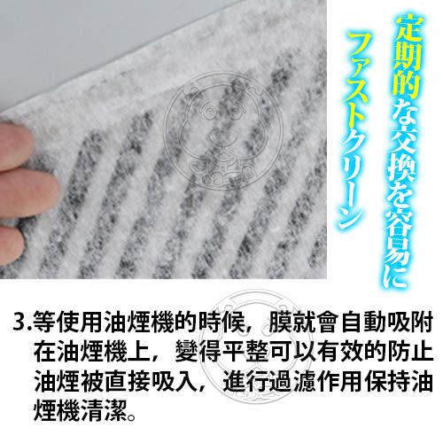 【zoo寵物商城】 廚房小幫手》油煙機吸油防油污過濾棉網2入/包