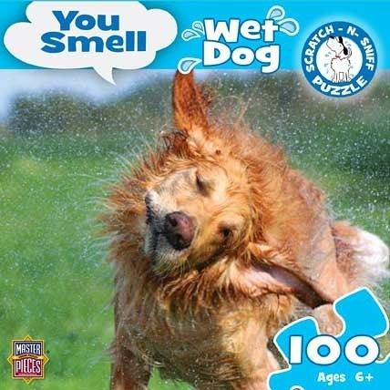 [KANGA GAMES]拼圖   You Smell - Wet Dog  100片