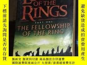 二手書博民逛書店The罕見Fellowship of the Ring (The