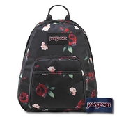 【南紡購物中心】【JANSPORT】HALF PINT FX 系列後背包 - 黑與玫瑰(JS-43908)