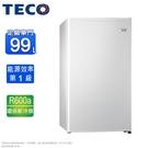 TECO東元 99公升一級能效單門冰箱 R1091W~含拆箱定位(可申請貨物稅補助)