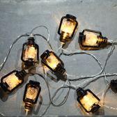 LED燈串北歐風ins裝飾掛燈復古小燈房間宿舍臥室小燈串FA【限時好康9折】