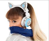 Axent Wear貓耳朵藍芽耳機頭戴式耳機立體聲音響網紅主播原裝 英雄聯盟