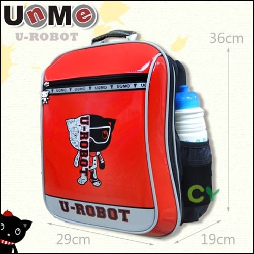 【UnMe機器人】直率雙層系後背書包 紅色 3233-R  (OS小舖)