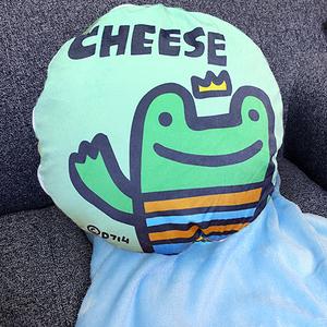 【P714星球】造型抱枕多用毯(多款任選)-品牌聯名獨家合作CHEESE