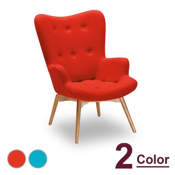 休閒椅【時尚屋】[NM7]霍爾XA500原木椅(單只)NM7-258-3兩色可選/免組裝/免運費/休閒椅