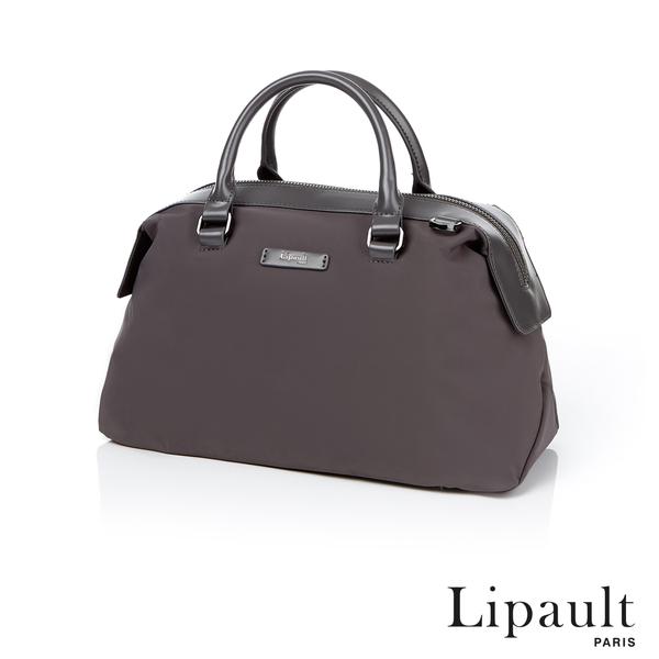 法國時尚Lipault 輕量保齡球包M(煙燻灰)