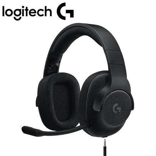 Logitech 羅技 G433 7.1聲道有線遊戲耳機麥克風 宇宙黑【加碼送大角鬥狐耳機架】