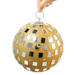 聖誕節用品  玻璃球鏡面20CM210g