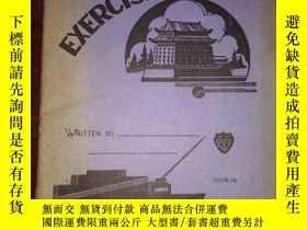 二手書博民逛書店老本子罕見民國練習本 ( exercise book ) 上海中