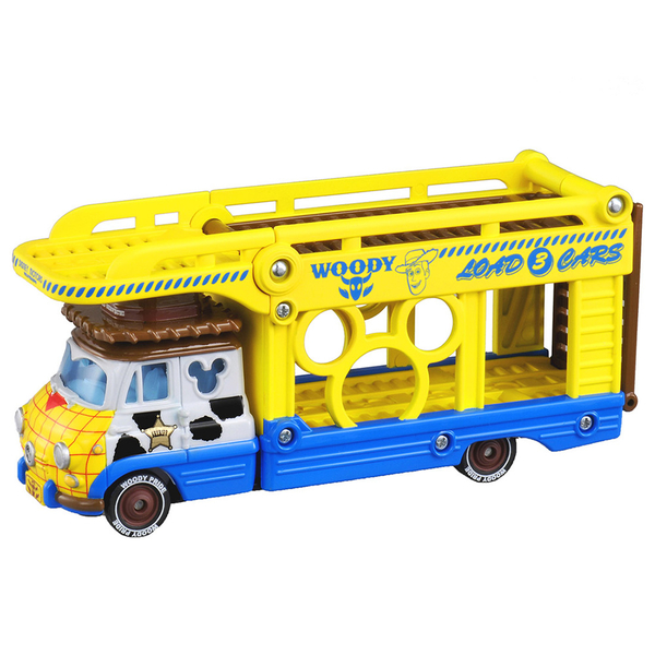 特價 迪士尼小汽車 玩具總動員 運輸車 胡迪_DS13471