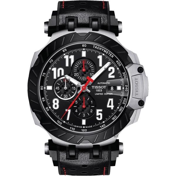 TISSOT天梭 T-RACE MOTOGP 2020 限量賽車機械錶-45mm T1154272705700