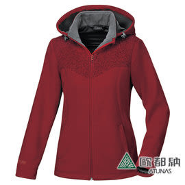 《歐都納 ATUNS》女 Windstopper 防風保暖外套 『暗紅』 G1560W