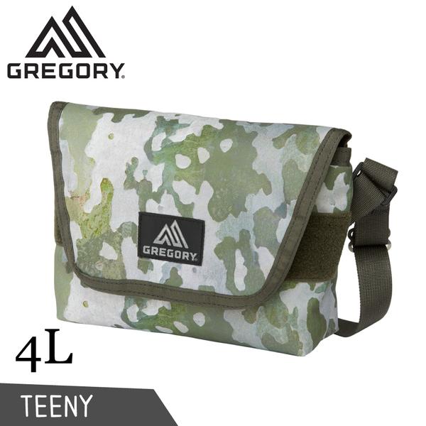 【GREGORY 美國 4L TEENY郵差包《樹皮迷彩》】110148/肩背包/側背隨身包/休閒包
