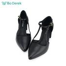 Bo Derek 繞踝中空瑪莉珍高跟鞋-...