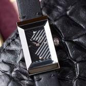 GUCCI G-FRAME 黑色魅力銀框皮革腕錶 YA147504 熱賣中!
