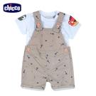 chicco-變色龍-兩件式背帶短褲套裝