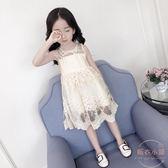 童裝女童連衣裙夏裝新款 兒童無袖背心裙女孩公主裙子韓版潮 店家有好貨
