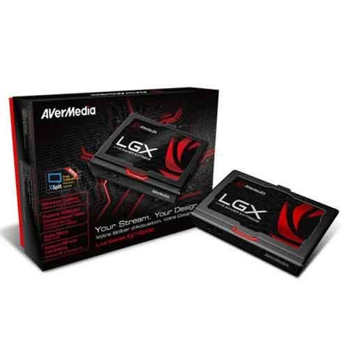 【AVerMedia 圓剛】至尊HDMI擷取盒(LGX)GC550【限省1200元,手機APP遙控檔案管理】