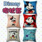 迪士尼、45x45方型抱枕套 [多款Di...