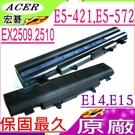 ACER 電池(原廠)-宏碁 電池 AL14A32,E14,E15,E5-411,E5-421,E5-471,E5-511,E5-521,E5-572,E5-572G,EX2509