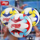 紅雙喜充氣軟式排球 中考學生專比賽用球 男女初學者海灘訓練   理想潮社