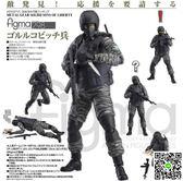 兵人模型Figma298 合金裝備2 自由之子 士兵 看守兵人 關節可動手辦模型 igo摩可美家