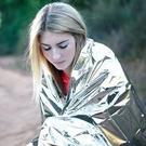 【130*210cm】銀色急救毯 戶外急救保溫毯 PET應急毯