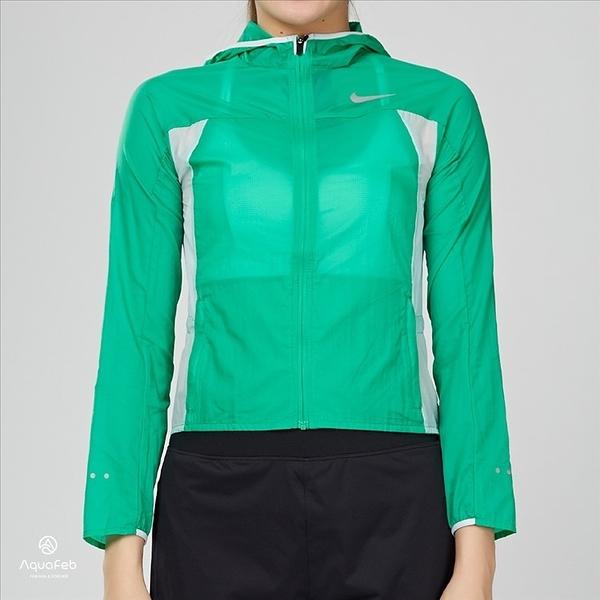 Nike Impossibly Light 大童 連帽外套 舒適 透氣 綠白 845590-301