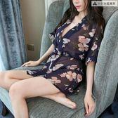 情趣內衣服套裝騷和服性感開襠緊身制服女三點式【奈良優品】