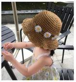 預購-寶寶手工遮陽涼帽 草編太陽帽