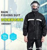 雨衣雨褲套男士加厚防水全身機車電瓶車分體成人徒步騎行雨衣 店慶下殺
