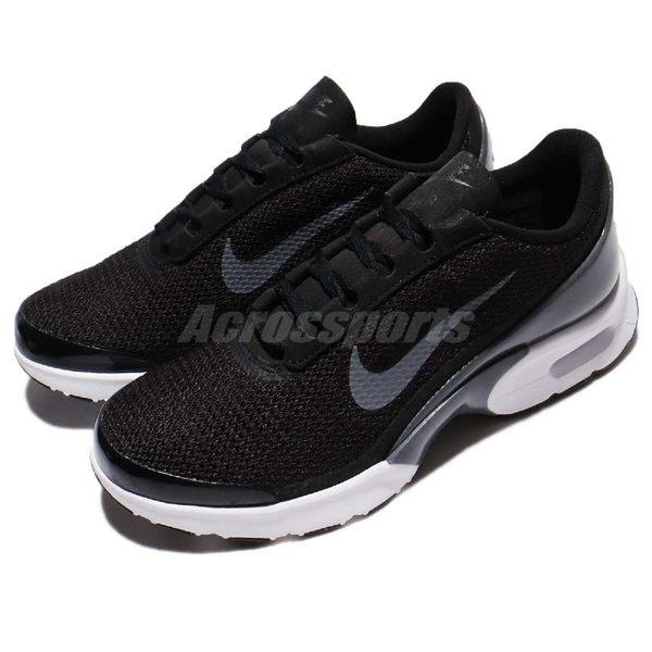 Nike 休閒慢跑鞋 Wmns Air Max Jewell 黑 白 灰勾勾 氣墊 運動鞋 黑白 女鞋【PUMP306】 896194-001