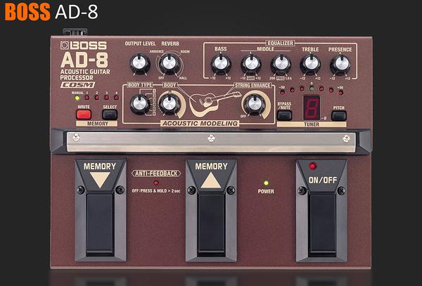 小叮噹的店 - 效果器 BOSS AD-8 木吉他效果器