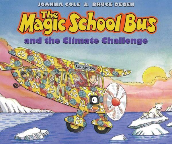 【麥克書店】THE MAGIC SCHOOL BUS AND THE CLIMATE CHALLENGE /英文繪本附CD《自然科學》(中譯:魔法校車)