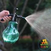 手動氣壓式透明噴壺澆花灑水澆水壺噴霧器家用噴霧瓶【樂淘淘】