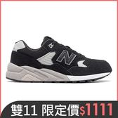 【New Balance】復古鞋 MRT580BN-D 男性 黑色