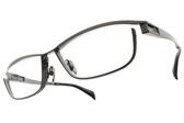 JAPONISM光學眼鏡 JP033 C03 (槍棕) 紳士流線設計款 平光鏡框 # 金橘眼鏡