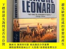 二手書博民逛書店FORTY罕見LASHES LESS ONEY5919 Elmore Leonard Harper Torch