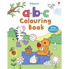 【麥克書店】A. B.C COLOURING BOOK (多功能故事貼紙書)